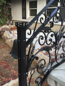 One Of My Favorite Custom Designed Scroll Railings